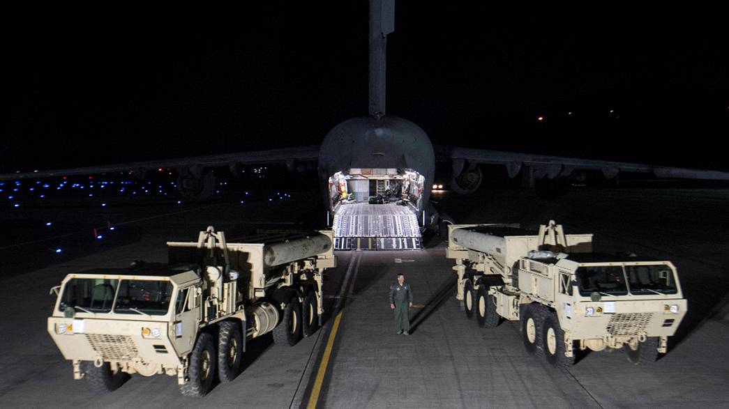 Tensions rise as US deploys anti-missile system to South Korea