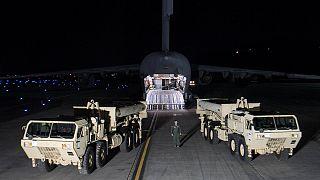 استقرار سامانه دفاع موشکی آمریکا در کره جنوبی خشم چین را برانگیخت