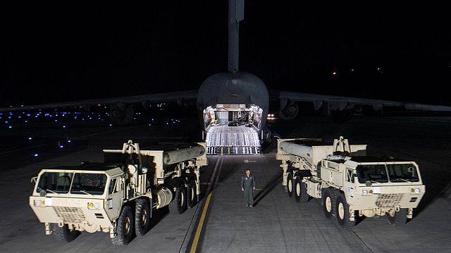 Seúl y Washington comienzan a desplegar en territorio surcoreano el escudo antimisiles THAAD