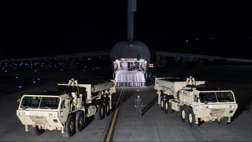 EUA instala mísseis na Coreia do Sul