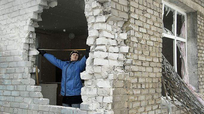 Az oroszbarát ukrajnaiaknak is újra fel kell építeniük életüket a harcok miatt