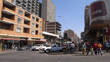 Fall in mining and manufacturing shrinks South Africa's economic growth