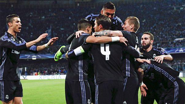 Real Madrid ve Bayern Münich Şampiyonlar Ligi'nde çeyrek finale yükseldi