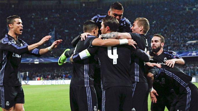 Champions League: Titelverteidiger Real Madrid und Bayern München stürmen ins Viertelfinale