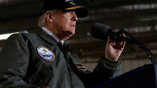 Ein Trump-Porträt nur aus Hassparolen