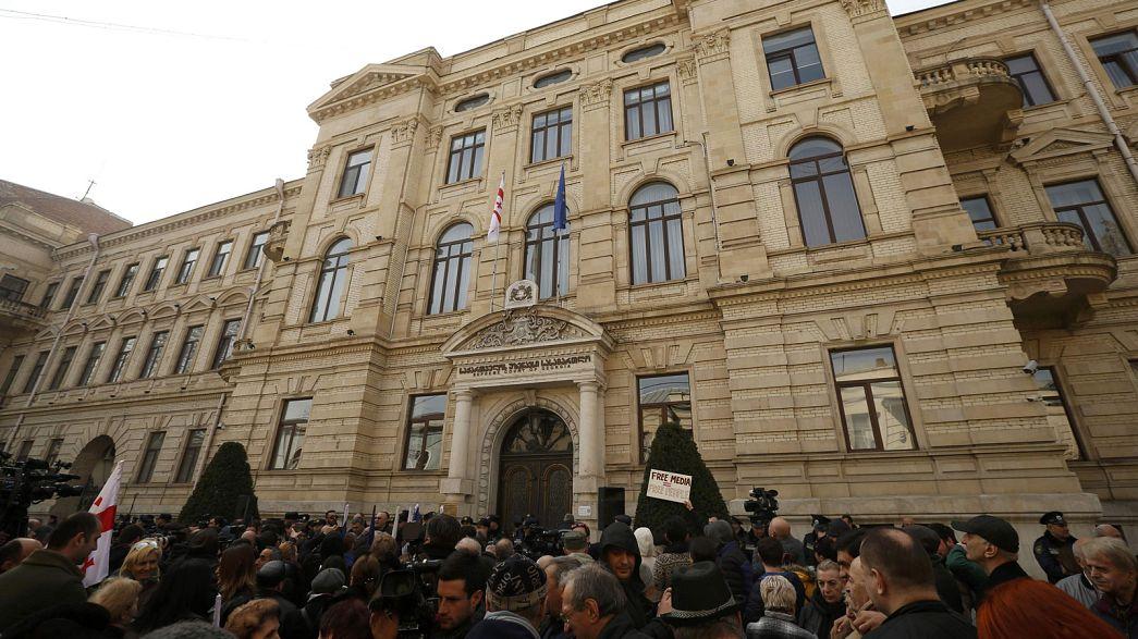 Europäischer Gerichtshof für Menschenrechte: Georgischer Oppositionssender kann unabhängig bleiben