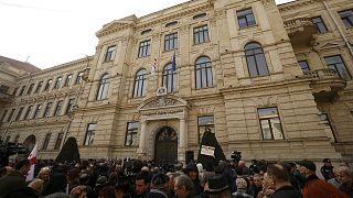 El Tribunal Europeo de Derechos Humanos paraliza la devolución de Rustavi TV a Khalvashi