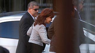 Cristina Fernández de Kirchner, en los juzgados por un presunto caso de corrupción
