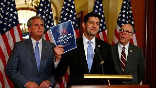 Los republicanos estadounidenses, divididos sobre cómo enterrar el Obamacare