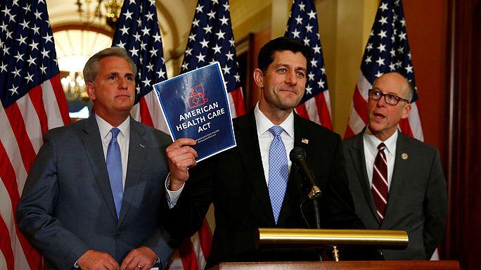 """Widerstand bei den Republikanern gegen neue """"Trumpcare"""""""