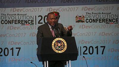 Kenyan president jabs striking medics: 'This is blackmail'