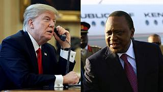 Trump's call to Kenyan President focuses on al-Shabaab and closer cooperation