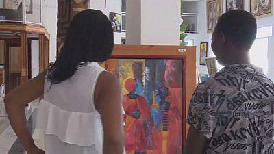 La dure vie des femmes peintres au Congo