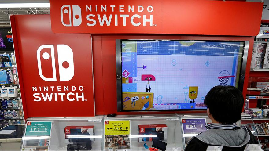 Nintendo's Switch console sales strong