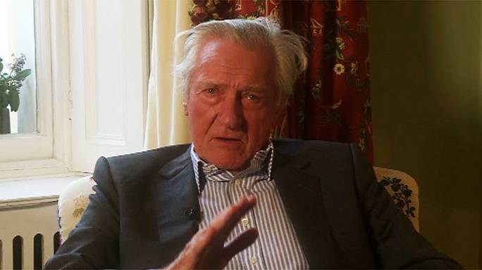Brexit rebel Lord Heseltine is fired as UK government adviser