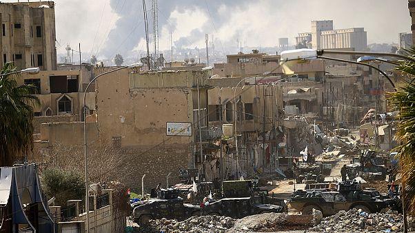 Las fuerzas iraquíes se preparan para la batalla final en Mosul