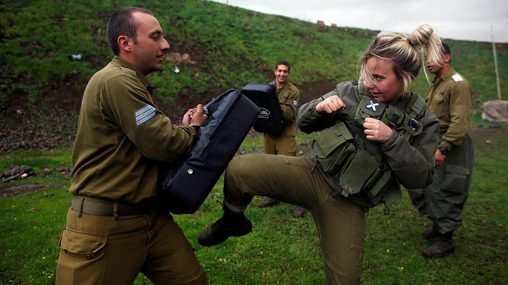 International Women's Day: combat training with the Israeli armed forces