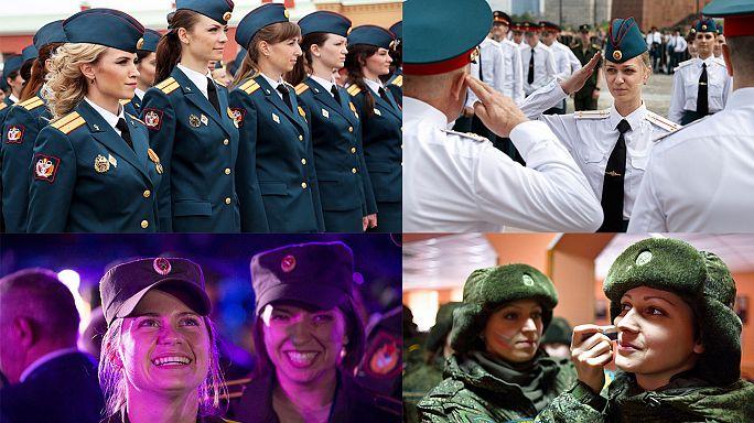 Rusya ordusunda makyajlı kamuflaj