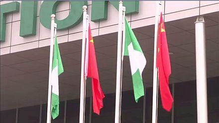 Le président intérimaire du Nigeria inaugure une ligne de train