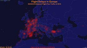 برای کاهش تاخیر پروازها در اروپا چه اقداماتی انجام می شود؟