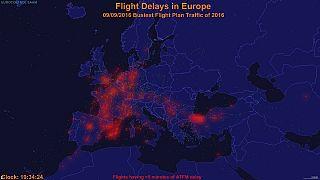 Tráfego aéreo: Gerir atrasos e inconvenientes