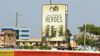 Ghana celebrates 60 years of independence [no comment]