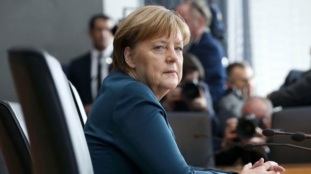 VW-botrány: meghallgatta a vizsgálóbizottság Angela Merkelt