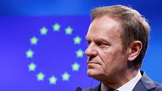 Poland steps up tussle over Tusk ahead of EU Summit