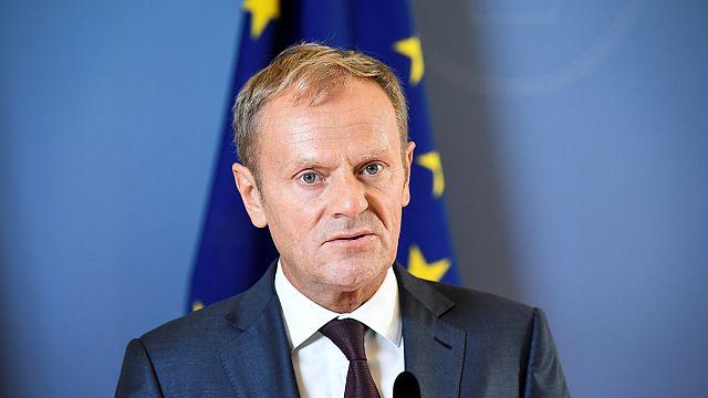Donald Tusk defiende su reelección al frente del Consejo Europeo