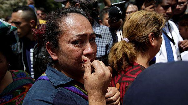 Guatemala'da 19 kız çocuğu yanarak can verdi