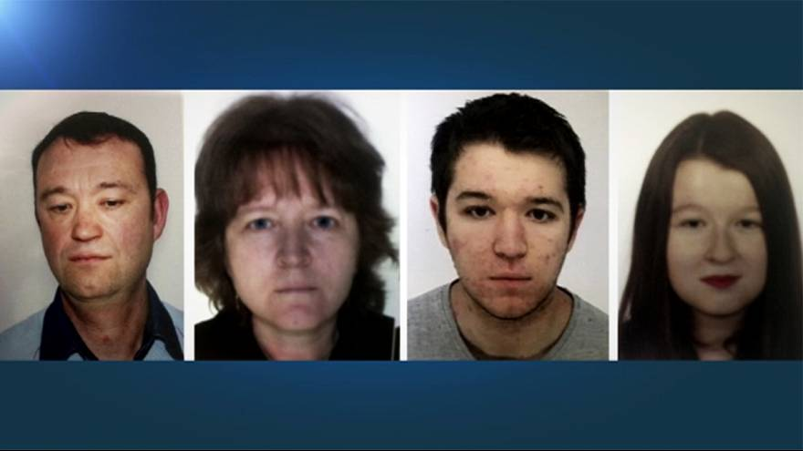 Remains of missing French family found