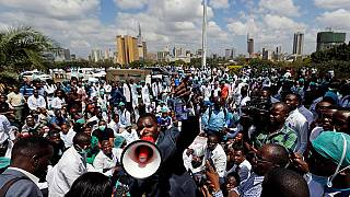 Kenya government to sack striking doctors, medics vow to soldier on