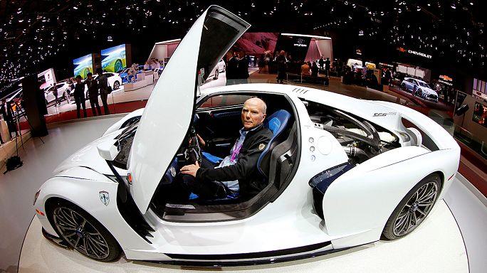 Power trends at the Geneva motor show