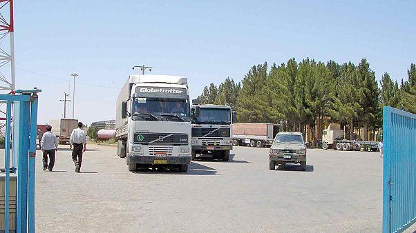 توقف تبادل کالا در مرز ایران و افغانستان