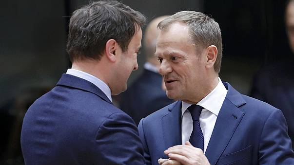 قمة أوروبية في بروكسل تعيد انتخاب توسك رئيسا لمجلس أوروبا