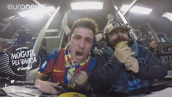 Watch: Radio host's euphoric reaction to Barcelona comeback