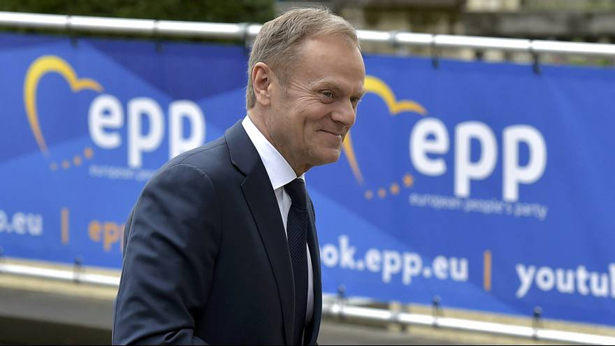 Alemanha e França contra Polónia na reeleição de Donald Tusk