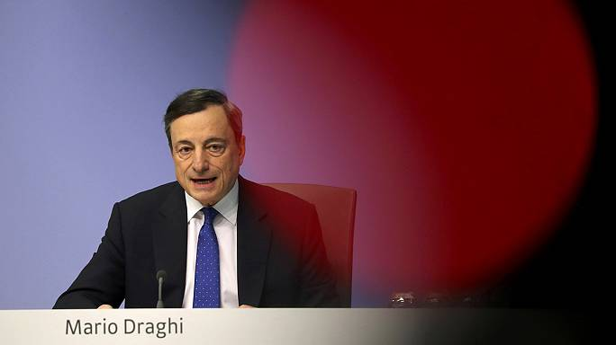El BCE eleva en una décima al 1,8% el crecimiento de la eurozona este año