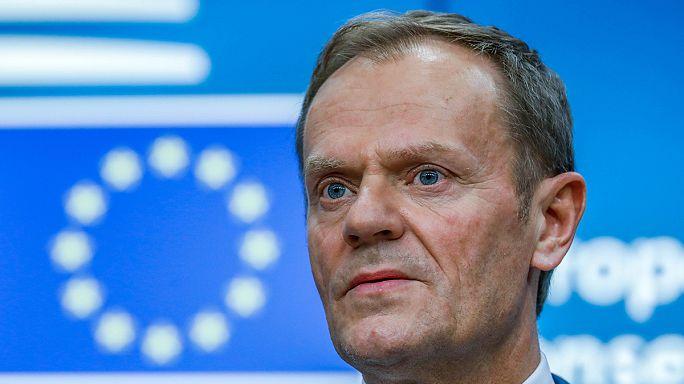تمدید ریاست دونالد توسک بر شورای اتحادیه اروپا برغم مخالفت لهستان