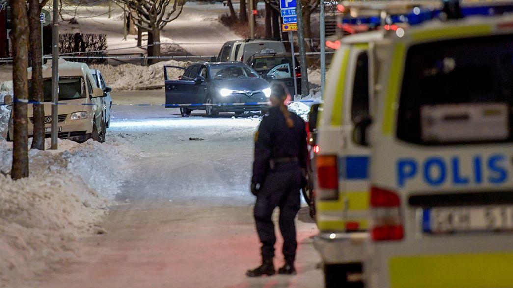 Polícia sueca investiga novo crime violento nos subúrbios de Estocolmo