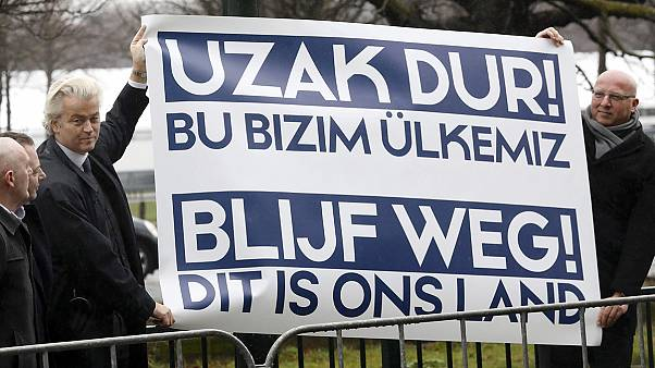 تنش لفظی بین ترکیه و هلند شدت گرفت