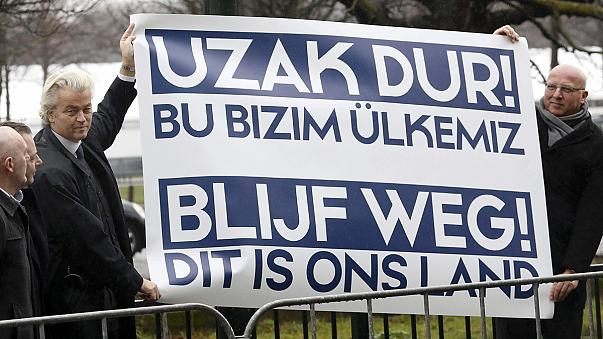 'I will go to the Netherlands!': Turkish minister defies Dutch resistance