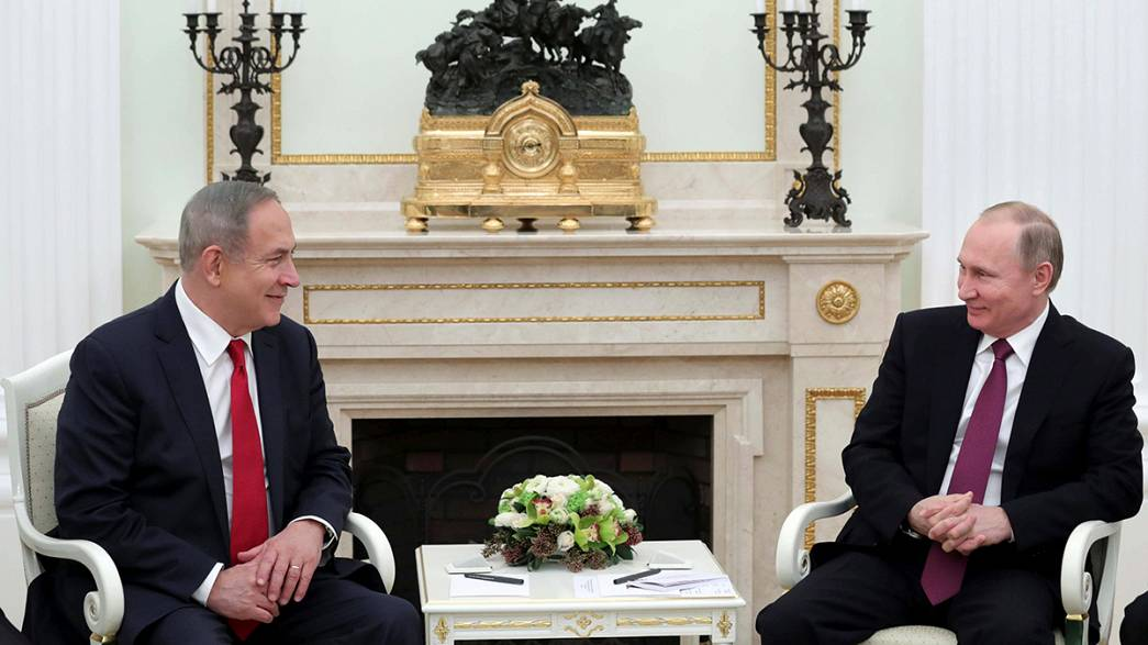 Netanyahu to Putin: Israel fears Iranian foothold in Syria