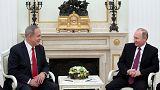 Netenyahu Moskova'da Putin ile görüştü