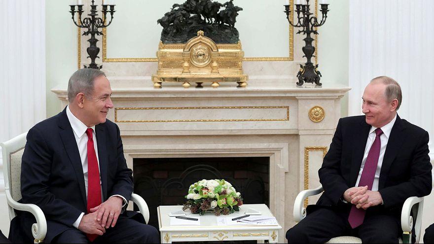 Нетаньяху просил Путина не дать Ирану закрепиться в Сирии