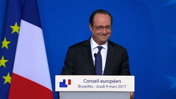 Election Présidentielle : François Hollande ne se mouille pas
