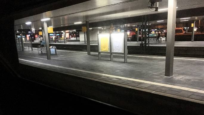 Several people injured in axe attack at Dusseldorf train station