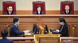 كوريا الجنوبية : قتيلان بين مؤيدي الرئيسة خلال محاولة اقتحام المحكمة