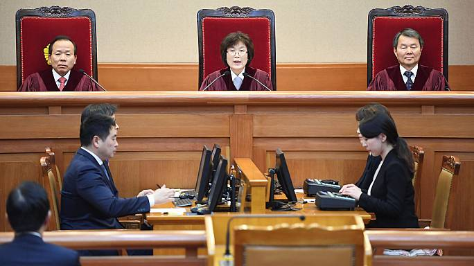 South Korea's scandal-hit president removed from office