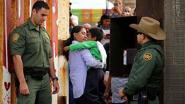 المكسيك تعبرعن قلقها من فصل أطفال المهاجرين غير الشرعيين في الولايات المتحدة عن أهاليهم